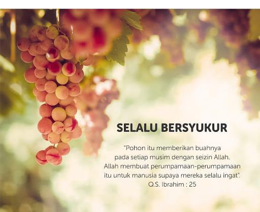 Jangan Berdoa Sebelum Bersyukur, Selalulah Sabar Dan Reda - Hijabista