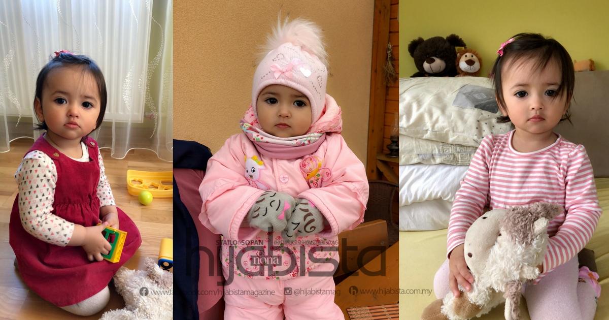 Masih Ingat Bayi Perempuan Paling Cantik Viral Kini Jadi Anak Ayah Yang Makin Bijak Cute Hijabista
