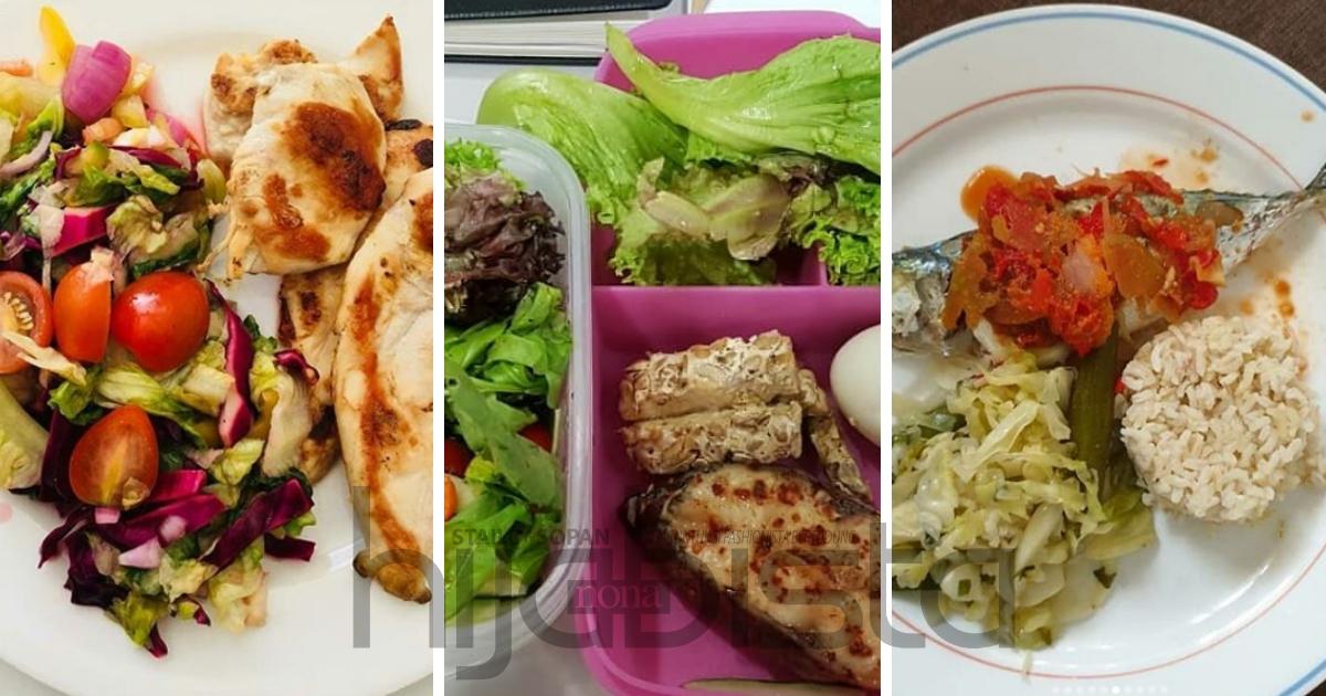 Menu Sihat Diamalkan Cikgu Diet Ini Bantu Pelajarnya